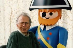 Hans Beck (a la izquierda)
