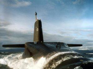 el Vanguard de la Armada británica