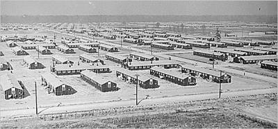 El campo de internamiento de Jerome, en Arkansas
