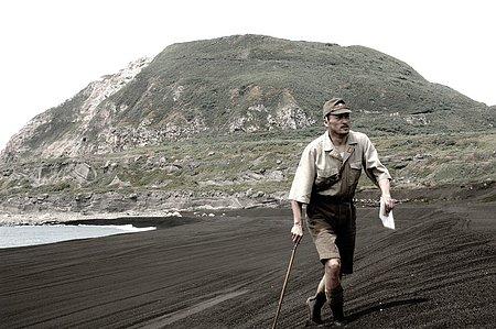 El general Kuribashi en Iwo Jima
