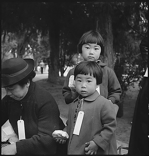 Niños nisei. Dorothea Lange