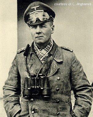 Erwin Rommel, comandante en jefe del Afrika Korps