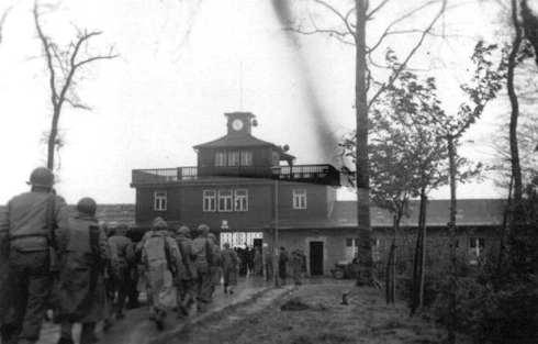 El III Ejército USA entra en Buchenwald, abril de 1945