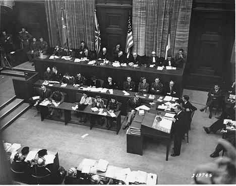Tribunal de crímenes de guerra de Núremberg