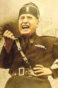 Mussolini en sus primeros años de dictador