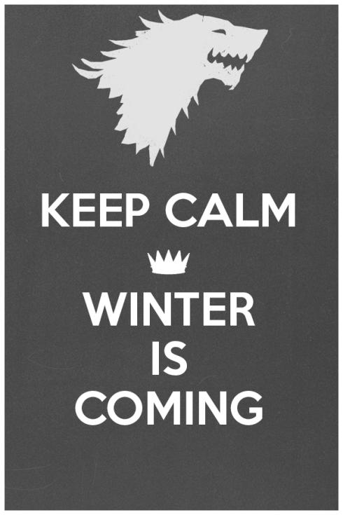 Mantengan la calma, llega el invierno