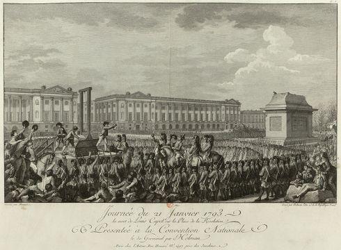 Ejecución de Luis XVI, 21 de enero de 1793